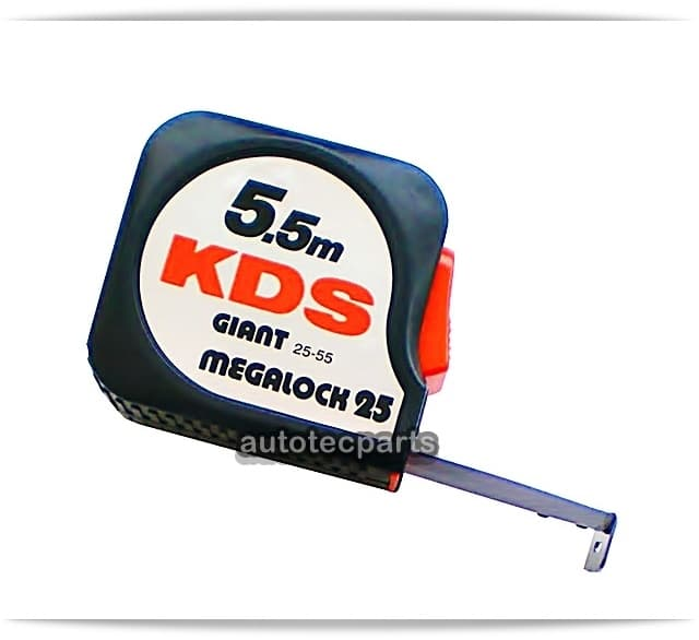 Μετροταινία Μεζούρα Giant Megalock 5,5M X 25 mm KDS -  στο Autotec Δούμας