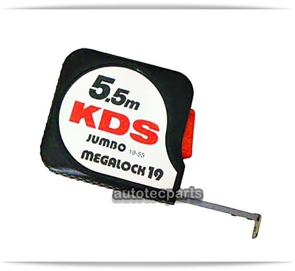 Μετροταινία Μεζούρα Jumbo Megalock 5,5M X 19 mm KDS -  στο Autotec Δούμας