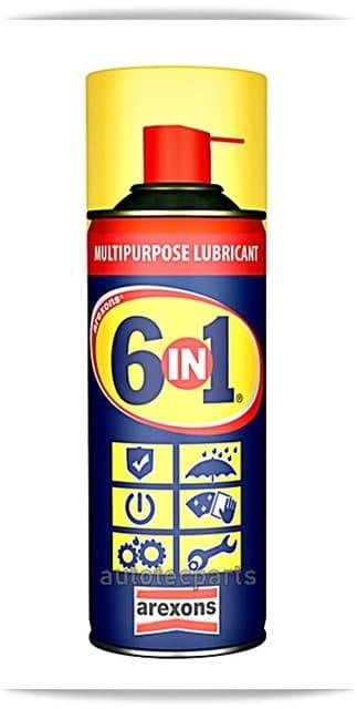 AREXONS 6 IN 1 Spray Πολλαπλών Χρήσεων 200ml - Λιπαντικά & Χημικά στο Autotec Δούμας