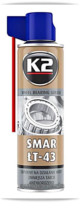 K2 LT-43 Bearing Grease Γράσο Ρουλεμάν 400 ml - Χημικά & Πρόσθετα στο Autotec Δούμας