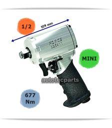 Αερόκλειδο Μini 1/2 109mm  677 Nm 825411 FORCE - Ειδικά Εργαλεία-Εξοπλισμός Συνεργείου στο Autotec Δούμας