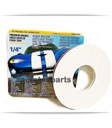 NORTON Ταινία Διπλής Όψης 6 mm X 18 M Acrylic Γκρί 5620 - Ανταλλακτικά & Αναλώσιμα στο Autotec Δούμας