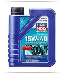 LIQUI MOLY Marine 4T Motor Oil 15W-40 1 L - Λιπαντικά & Χημικά στο Autotec Δούμας