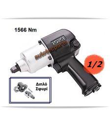 Αερόκλειδο 1/2 180mm 1566 Nm 82541A FORCE - Ειδικά Εργαλεία-Εξοπλισμός Συνεργείου στο Autotec Δούμας