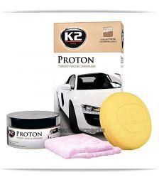 K2 PROTON HARD WAX Γυαλιστικό Κερί  200 gr - Χημικά & Πρόσθετα στο Autotec Δούμας