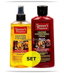 NITEO Tanners Set Combo Καθαριστικό και Συντηρητικό Δέρματος - Λιπαντικά & Χημικά στο Autotec Δούμας