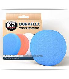 K2 DURAFLEX Velcro Μπλε Σκληρό Σφουγγάρι Γυαλίσματος -  στο Autotec Δούμας